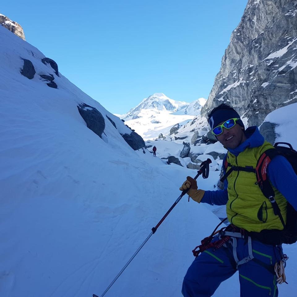 Due morti nell'incidente sul massiccio di Grand Combin